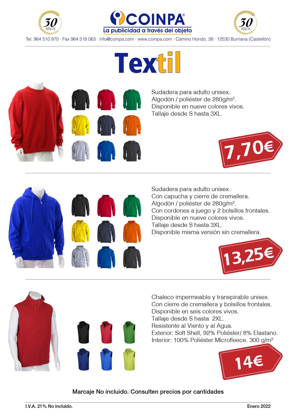 COINPA - Promoción Textil