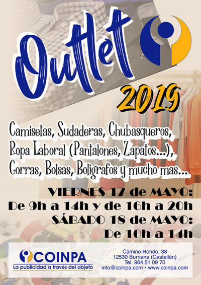 Outlet Coinpa 2019