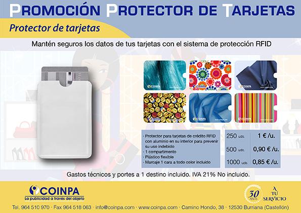 Protector de tarjetas RFID